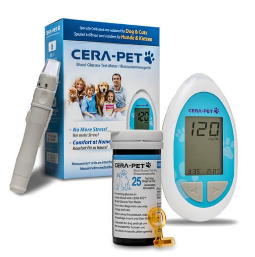 Das CERA-PET™ Blutzuckermesssystem